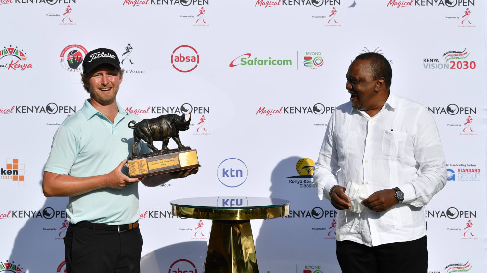 Flawless Harding wins the Magical Kenya Open