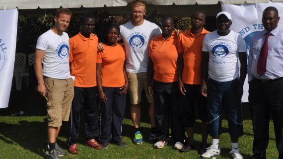 Hand the Ball - Kenya hosts Danish handball professionals