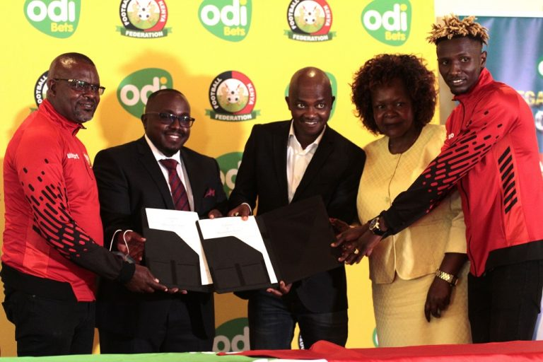 FKF unveils new  betting and motivational partner for Harambee Stars