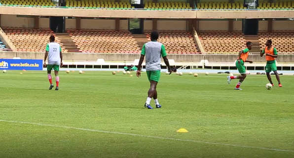 Masud, Musa part of Stars' first AFCON training session