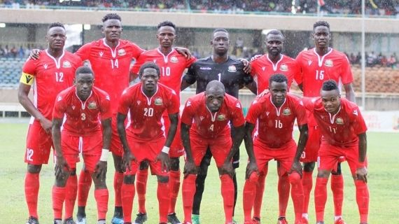 Harambee Stars climb two places in latest FIFA rankings