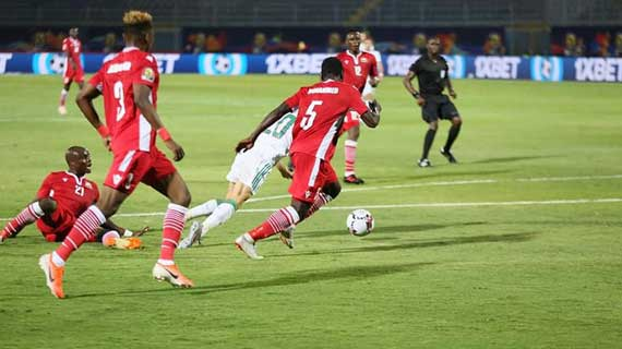 Heartbreak as Harambee Stars lose to Algeria in AFCON opener