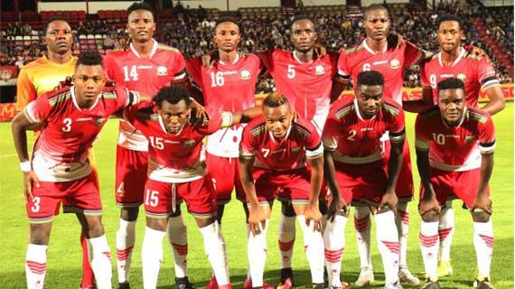 Kenya drops in latest FIFA rankings