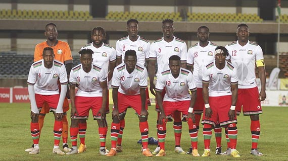 Harambee Stars AFCON 2019 provisional squad named
