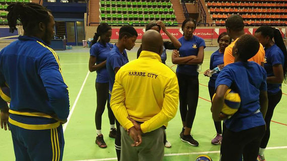 Harare Volleyball Club to make debut appearance in Egypt