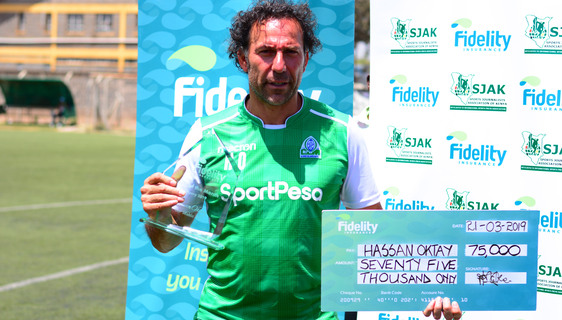 Oktay named February KPL coach of the month