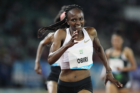 IAAF Boss congratulates historic Obiri