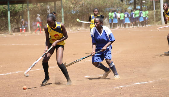 Starehe Girls beat Buruburu Girls in Schools Hockey