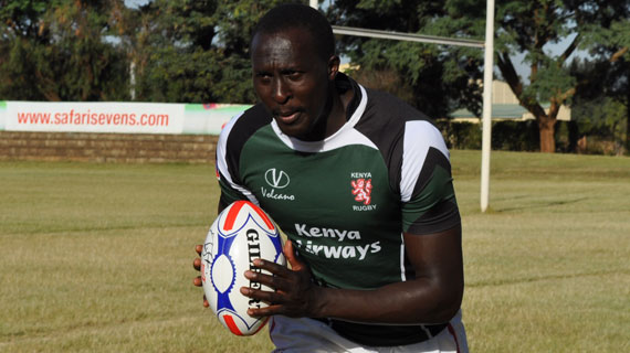 Kenya rugby legend Kayange calls time on international career