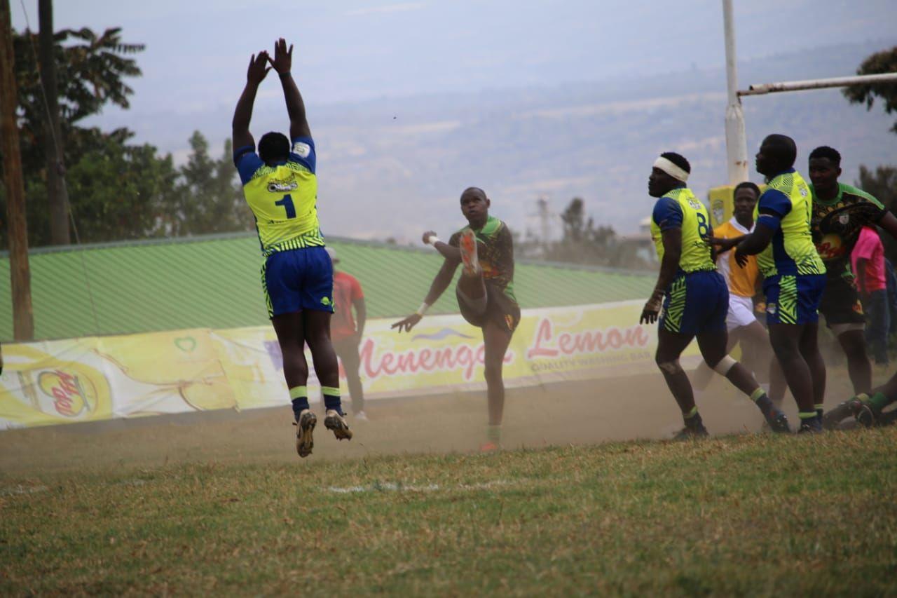 Oilers win Nakuru derby to go top of the Kenya Cup