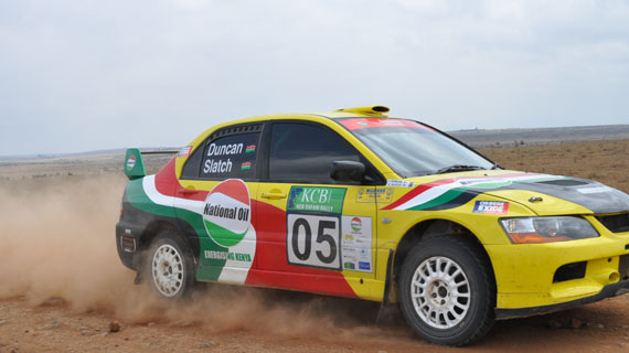 Stage is set for Nyeri Rally