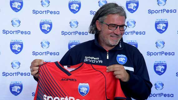 AFC Leopards new coach promises to stay at the club