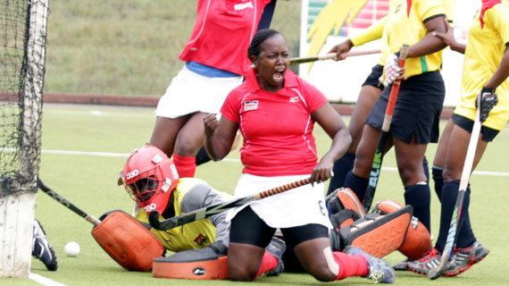 Kenya hold nerves to beat Ghana in world league