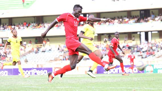 Jesse Were dropped as Harambee Stars ready for Ghana