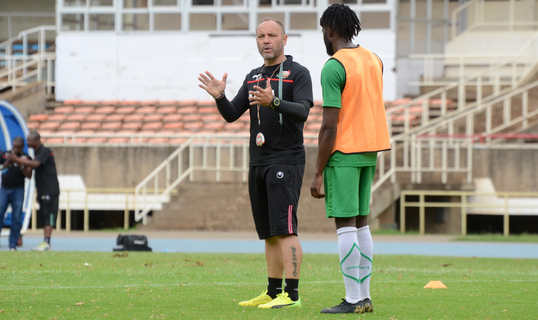 Omollo joins Stars camp at Kasarani ahead of departure to France