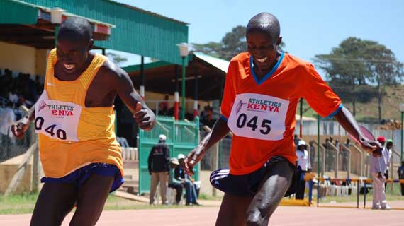 Kurgat and Kibet dominate 3000m race at the Eldoret WU18 pre-trials
