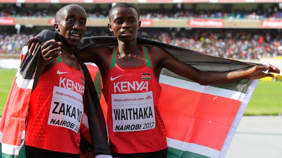 Kenya team to Finland World Championship