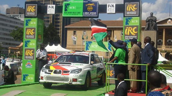 Action packed weekend as Safari Rally starts