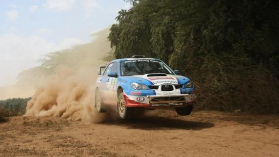 Ian Duncan Romps to victory in Nakuru Rally