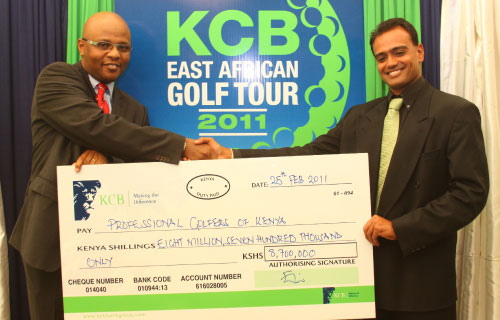 KCB's 8.7 Million Sunshine to East African Golf Tour