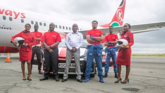 Kenya Airways Unveils Three Young FIA Rally Star Drivers