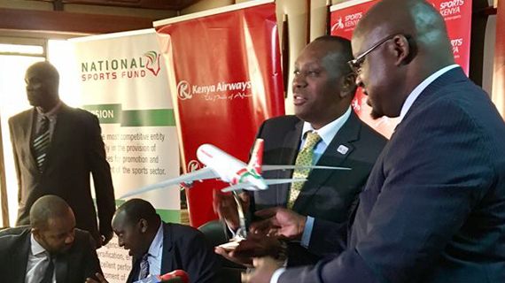 KQ becomes Kenya national teams'  official airline