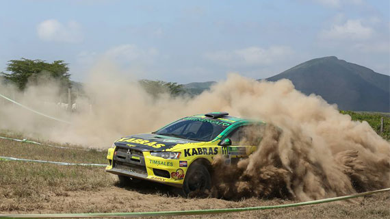 Chatthe takes overnight Safari Rally lead as  Boldy bows out