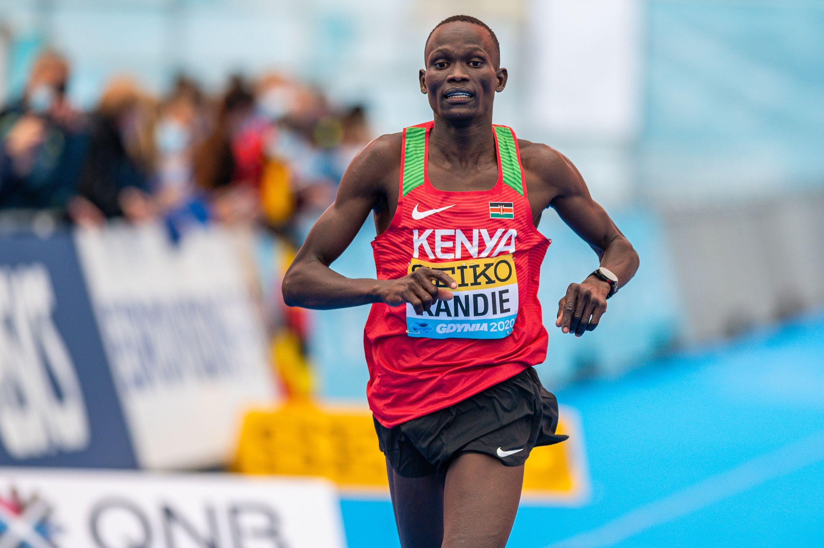 Kandie targets 10,000m glory in Tokyo