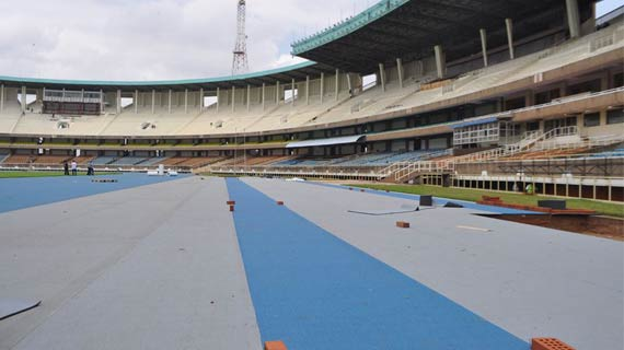 Kasarani is ready for World athletics Championships , Muthee assures