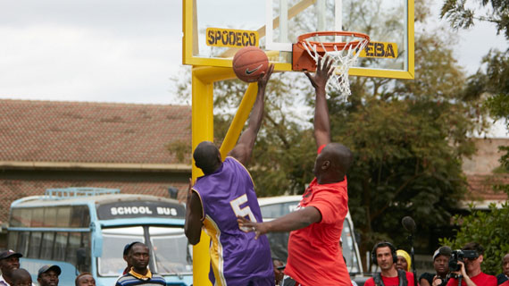 Kayole lands  Basketball court courtesy of Masai Ujiri