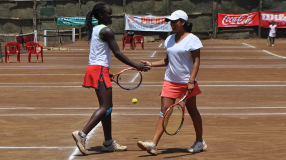 Egyptians dominate Kenyans in doubles