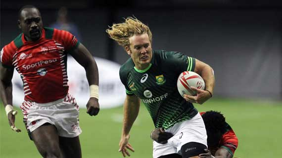 Kenya to face South Africa , Canada and France in Hong Kong
