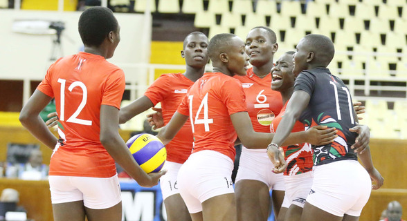 Junior Malkia Strikers  cruise past Tanzania in CAVB U20 Championship
