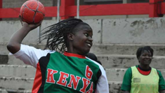 Kenya women handball team seek continental ticket in Kampala