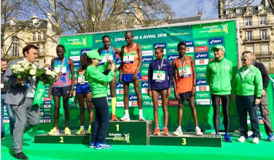 Kenyans sweep 2018 Paris Marathon