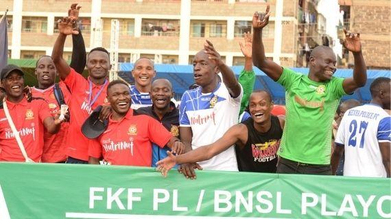 Kenya Police secure FKFPL promotion