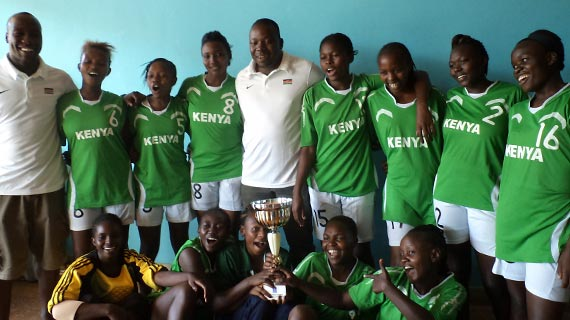 Kenya U-20 handball Queens are regional champions