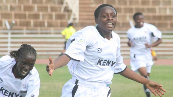 Kenya U-20 ladies' soccer team departs for Tunisia