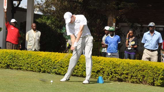 KCB East African Golf Tour tees off at Royal Club