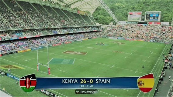 Shujaa beat Spain in second Hong Kong Sevens match