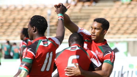 Kenya storm cup semis in Cape town