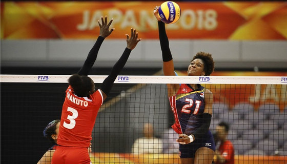 Dominican Republic hammer Kenya to end second round hopes