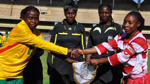 Kenyan women's soccer team lose out on African qualifier
