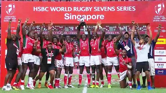 President Uhuru, DP Ruto and Raila congratulate Kenya 7s team