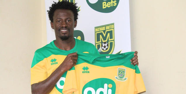 Kevin Kimani re-joins Mathare United