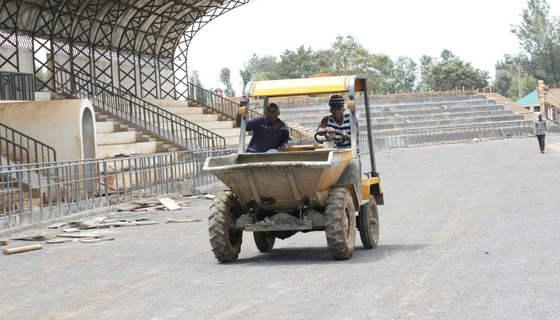 Kinoru Stadium in Meru