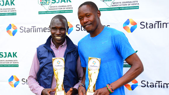 Athletics achievers Kamworor, Kinyamal earn SJAK awards