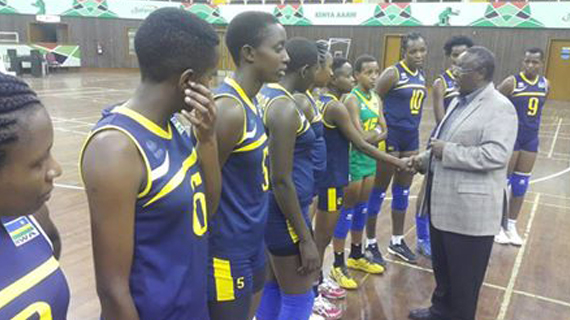 Rwanda squad lands in Nairobi ahead of Africa Championships