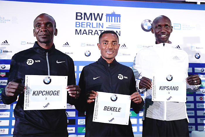 Battle of the titans as Kipchoge, Bekele and Kipsang aim for the Marathon record