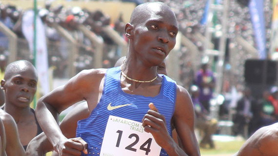 Kiprop meets with Police boss after horror tweet